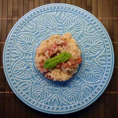 risotto, caporale, rice